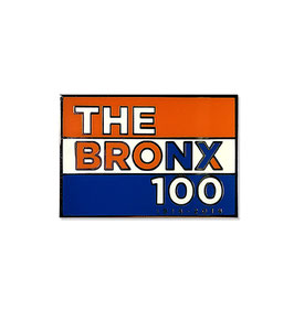 The Bronx 100 Centennial Lapel Pin