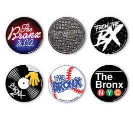 Bronx Circle Sticker 6-Pack
