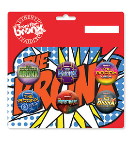 The Bronx Superhero Button Pack