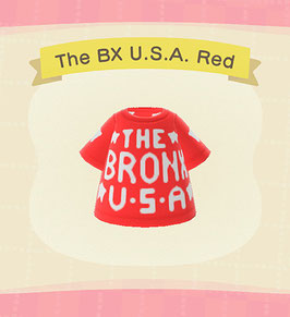 Digital Bronx USA T-Shirt COLOR: Red