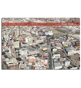 The Hub Postcard
