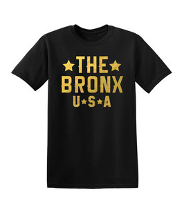 The Bronx USA T-Shirt (Gold Foil)