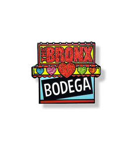 The Bronx Bodega Hard Enamel Pin