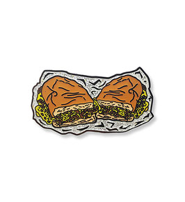 Chopped Cheese Hard Enamel Pin