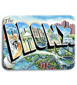 The Bronx Illustrated Magnet
