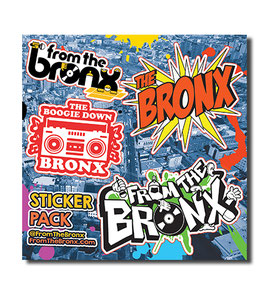 From The Bronx County Sticker Pack