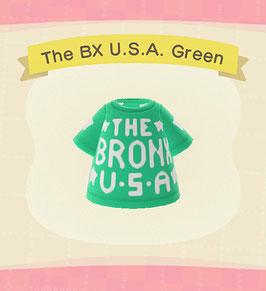 Digital Bronx USA T-Shirt COLOR: Green