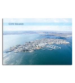 City Island Postcard