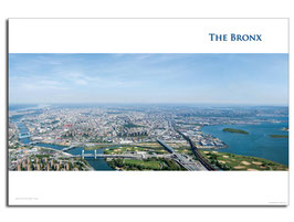The Bronx Aerial Poster