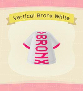 Digital Vertical Bronx T-Shirt COLOR: White