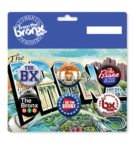 "The ""From The Bronx"" Button Pack"