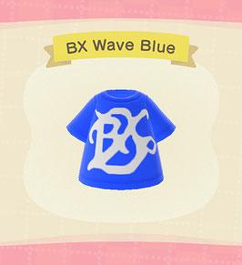 Digital BX Wave T-Shirt COLOR: Blue