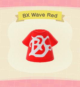 Digital BX Wave T-Shirt COLOR: Red