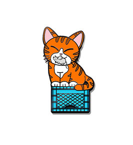 Bodega Cat Hard Enamel Pin