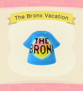 Digital Bronx Vacation T-Shirt