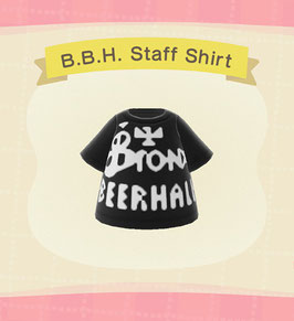 Digital Bronx Beer Hall Staff T-Shirt