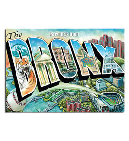 Greeting from The Bronx Postcard