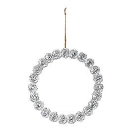 [Mathilde m] Couronne métal Roses - Grand modèle