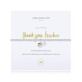 Bracelet [J♥J] A LITTLE THANK YOU TEACHER BRACELET