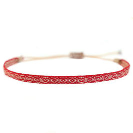 [LOVE IBIZA] BRACELET AZTEC RED