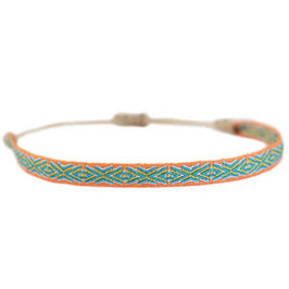 [LOVE IBIZA] BRACELET AZTEC ORANGE