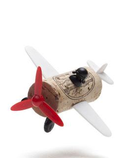 Corkers Classic - Avion du Capitainr Curtis (Décoration pour bouchon)