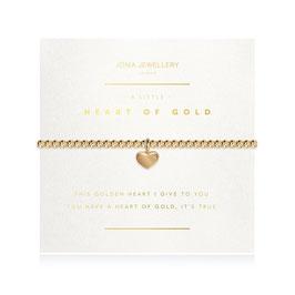 Bracelet [J♥J] A LITTLE HEART OF GOLD