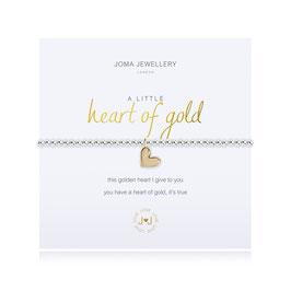 Bracelet [J♥J] A LITTLE HEART OF GOLD BRACELET