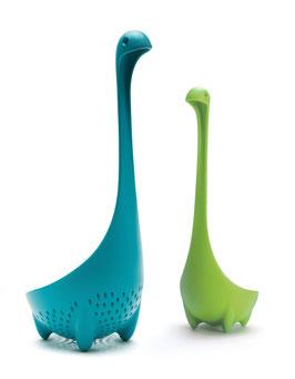 Nessie & sa maman Vert/Turquoise - Louche et Passoire