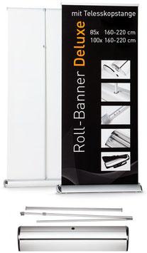 "Roll-Banner ""Deluxe"" inkl. Druck"