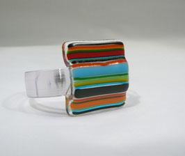 Bracelet  rayé multicolore A