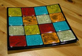 Coupe carrée décorative de style japonisant