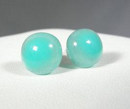 Boucles d'oreilles Turquoise vert