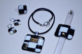 Parure bijoux inspiration Paul Klee