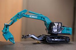 Kobelco SK210 D-10 Car Dismantling