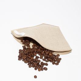 Leinen-Kaffeefilter