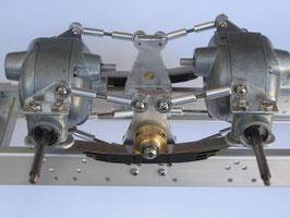 Pendelachs-System für hintere Antriebsachsen