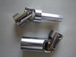 Kardanset 3 - Stahl verchromt