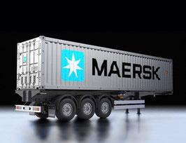 40-fuß Container-Auflieger Maersk