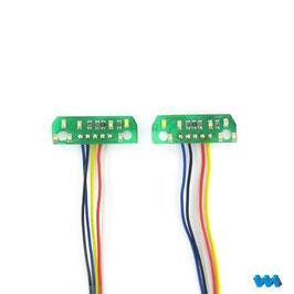 7-Kammer Elektronik 7,2 oder 12 Volt