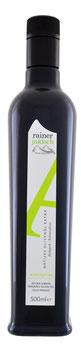 Arbequina Bio Olivenöl 500ml zertifiziert und kontrolliert durch DE-ÖKO-006