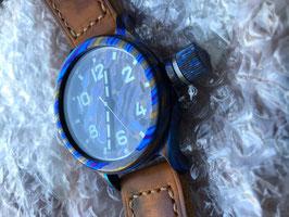 Часы Водолазные 295ЧС ТЦД (Титано-Циркониевые Дамаскированные) с сапфировым стеклом