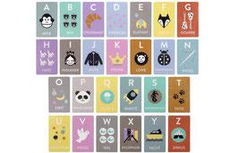 Holz Lernspiel Buchstaben | Kindsgut