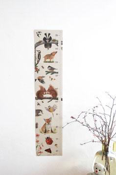 Kinder-Messlatte | Atelier Brigitte Baldrian