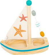 Holz Wasserspielzeug Segelboot Seestern | small foot