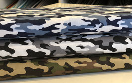 Baumwolle Army Camouflage - groß