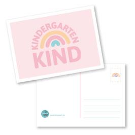 Kindergartenkind  Postkarte