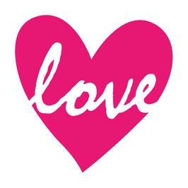 Plot Datei LOVE im Herz