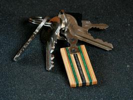 Schlüsselanhänger Lang - Grün/Schwarz