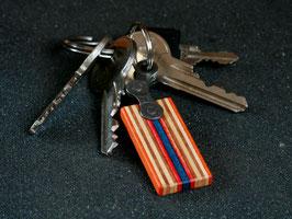 Schlüsselanhänger Lang - Orange/Rot/Blau